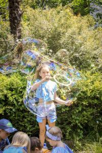 Шоу мыльных пузырей Сочи