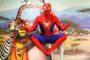 Человек паук Сочи