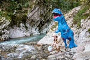Динозавр аниматор в Сочи