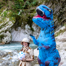 Динозавр в Сочи